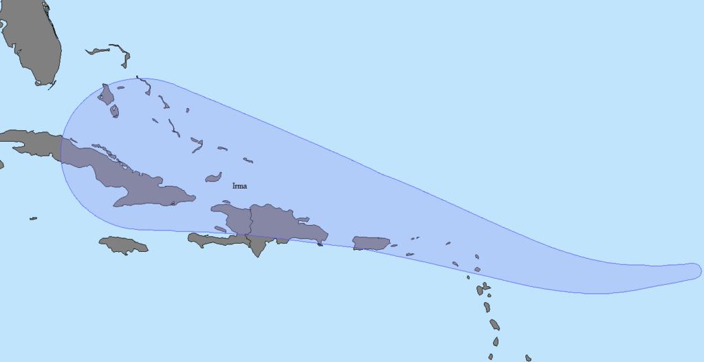 Hurricane Irma Shapefile